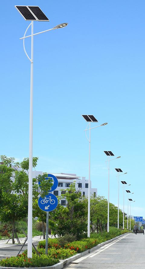 New rural solar street light case
