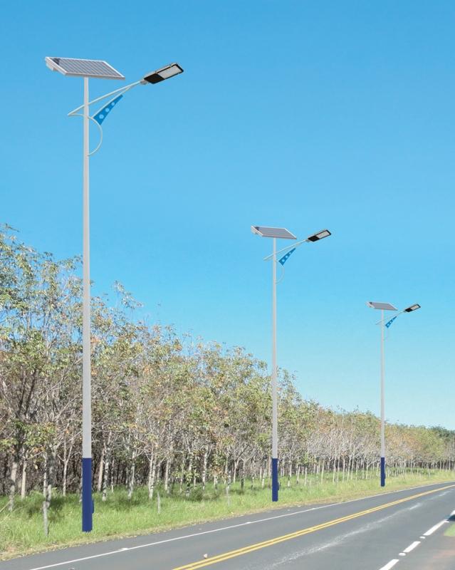 Solar street light case